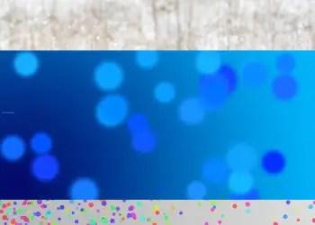 Snow Bokeh Confetti
