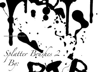 Ink Splatter Paint 32