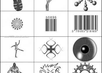 Eyeball – Barcode – Slipper Brushes