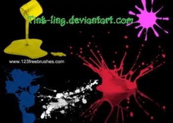 Paint Splashes Set