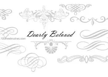 Calligraphy Ornaments Design