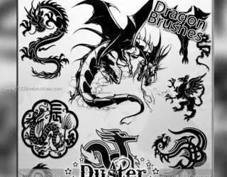 Free Dragon Brushes