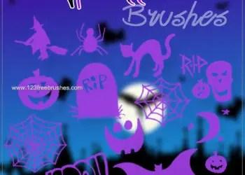 Free Halloween Photoshop Cs3 Brushes