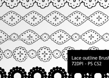 Lace Outlines