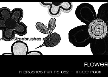 Flower Ornaments Brushes Download