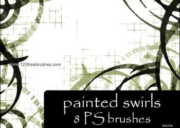 Painted Swirls