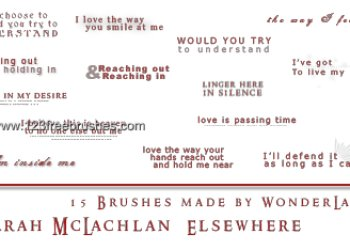 Sarah Mclachlan – Elsewhere Lyrics