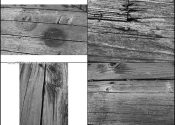 Grunge Wood Texture Brushes Photoshop Free