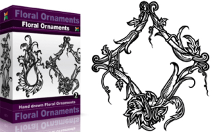 Floral Ornaments Set.1 | Vol : 2