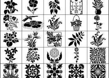 Free Photoshop Floral – Leaf Brushes