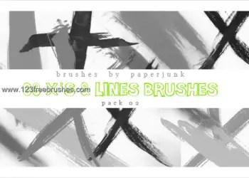 Paint Stroke Lines