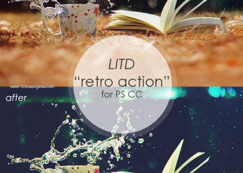 Litd Retro Effect Photoshop Action