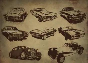 Retro Style Cars