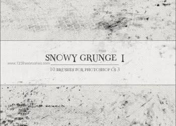 Snowy Grunge