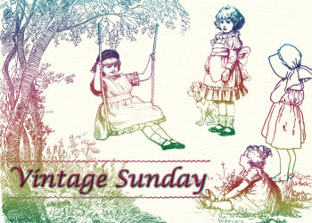 Vintage Sunday – Playing Children