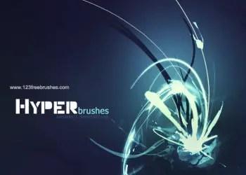 Free Hyper Photoshop Brushes