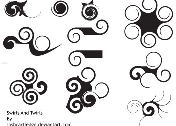 Swirls and Twirls