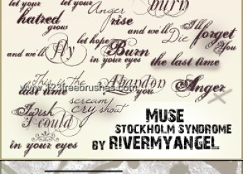 Muse Lyrics Text