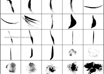 Photoshop Brush Strokes Free Download