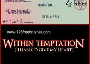 Jillian I Give My Heart Lyrics