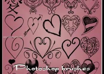 Hearts in Swirls