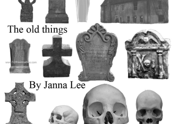 The Old Things – Tombstone and Skulls