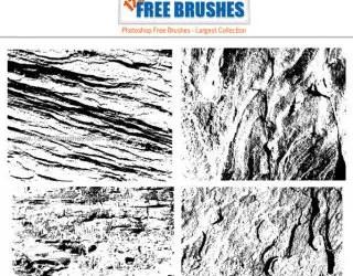 Free Grunge Destroy Texture Brush Pack
