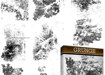 Grunge Free Photoshop Brush