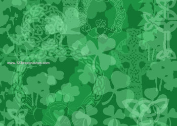 Four Leaf Clover Background
