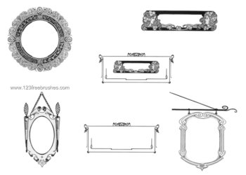 Decorative Frames Set
