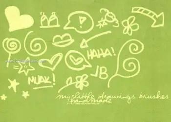 Little Doodle Drawings