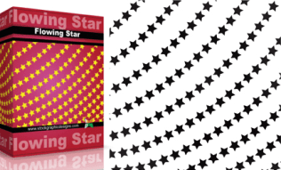 Flowing Shapes : Star Pack