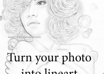 Turn Your Photo Into Lineart Ps Action