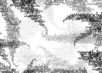 Text Grunge Swirls