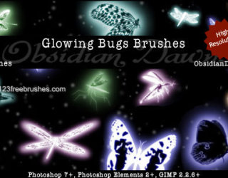 Glowing Bugs