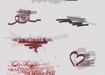 Ink Scribbles 9