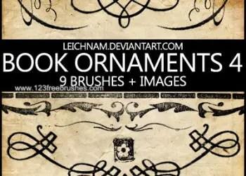 Book Ornaments