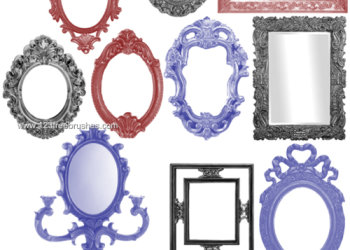 Vintage Ornate Picture Frames