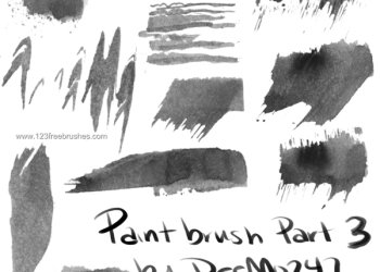 Paint Stroke Set 6