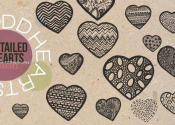 Detailed Hearts