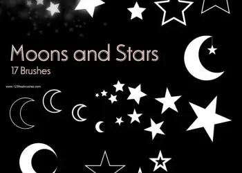 Moon and Stars 2