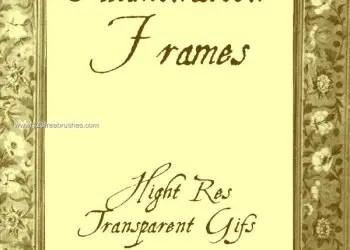 Medieval Illumination Frame Design