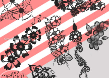 Mehndi Flowers