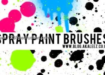 Spray Paint Splats