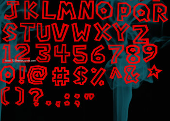 Super Mario Bros Font