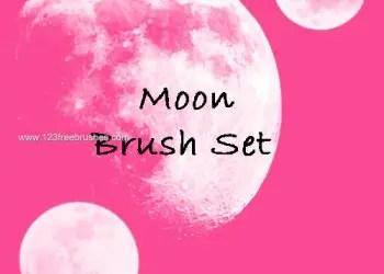 Moon Set 2