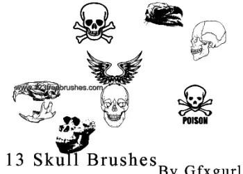 Skull – Crossbones – Wings