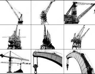 Cranes Free Photoshop Brushes