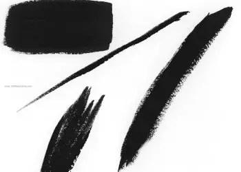 Paint Brush Strokes 3