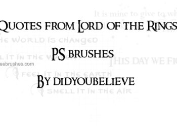 Quotes From Lord of the Rings